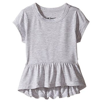 Hudson Kids Heather Jersey Peplum Tee (Toddler/Little Kids)