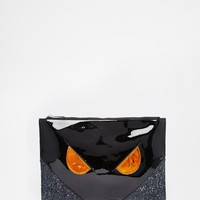 ASOS Halloween Co-ord DELAWARE Clutch Bag