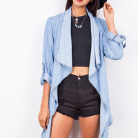 Daybreak Chambray Cardigan