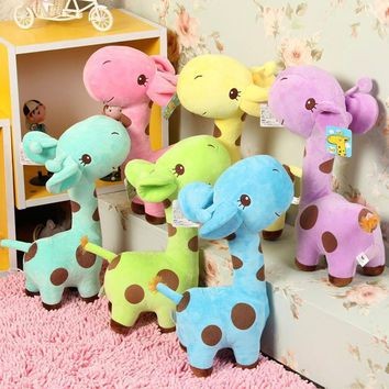 Soft Plush Giraffe Dear Children For Kids Birthday Party