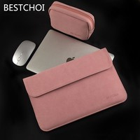 "New Bestchoi Laptop Sleeve 13.3 15 Laptop Case for Macbook Air Pro 13"" Matte Laptop Bag for Hp Dell Asus Lenovo 14 15.6 11 inch"