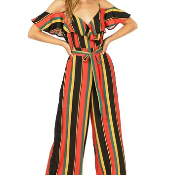 Harvest Stripe Jumpsuit