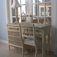 French Country Desk or Vanity