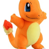 "Takaratomy New Pokemon N-09 X and Y Charmander/Hitokage 8.5"" Plush Doll"
