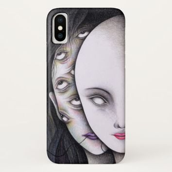 Eyes iPhone X Case