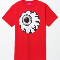 Mishka Monochrome Keep Watch T-Shirt - Mens Tee - Red