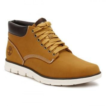 Timberlands Mens Wheat Bradstreet Chukka Boots