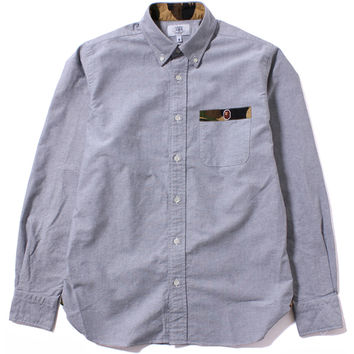 1ST CAMO PATCH OXFORD BD SHIRT