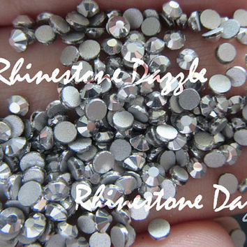 Quality ss10 Non Hotfix Silver Flat back Rhinestones, 3mm Non Hotfix Silver Flatback Rhinestones, 100pcs-1000pcs Non Hotfix Rhinestones