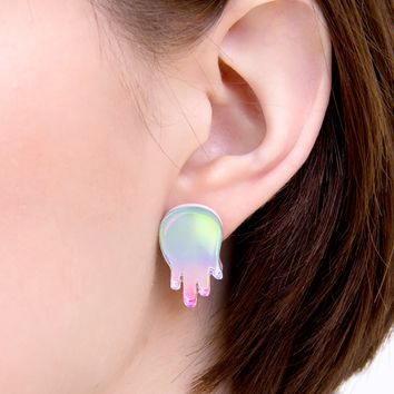 Glam Goop stud earrings