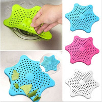 New Cute Home Living Floor Drain Hair Stopper Bath Catcher Sink Strainer Sewer Filter Shower Cover [8045578311]