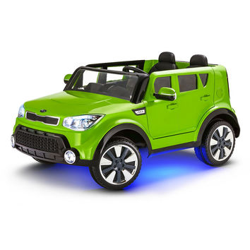 Kid Trax Kia Sing-A-Long Soul 12V Ride On - Green