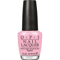 Opi Nail Lacquer, I Think in Pink, 0.5 Fluid Ounce