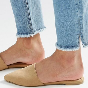 New Look Slip On Mule at asos.com