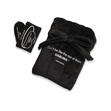 Gift Set- Don't Be Like The Rest Robe and Eye Mask Set