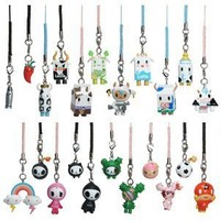 Tokidoki Frenzies Zipper Pull - Phone Charm - Clip-on (One Charm Only)