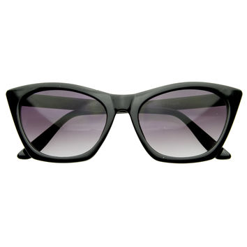 Unique Sharp Edge Cat Eye Womens Fashion Sunglasses 8461