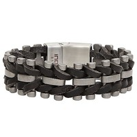 Inox Weaved Bracelet