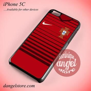 Portugal Soccer Jersey Phone case for iPhone 5C and another iPhone devices