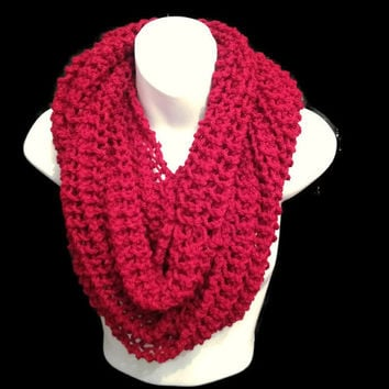 Shop Chunky Knit Scarf Pattern On Wanelo