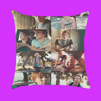 5 Second of summer collage - Pillow Case, Rectangle Pillow One Side/Two Sides.