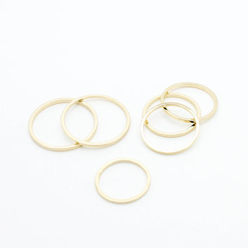 Stack rings set