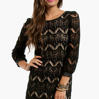 Lace Waves Dress $36