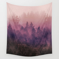 The Heart Of My Heart Wall Tapestry by Tordis Kayma