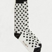 Checked stretch cotton blend socks | dolce&gabbana online store