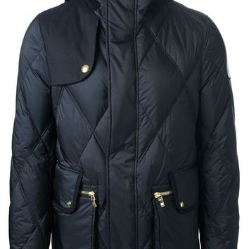 Moncler Gamme Bleu quilted feather down jacket