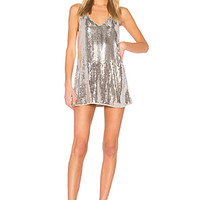 NBD Envy Dress in Silver & Nude | REVOLVE