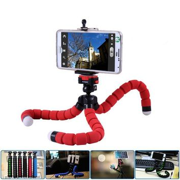 Mini Flexible Octopus Digital Camera Tripod Holder