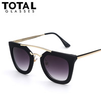 Totalglasses Sunglasses Women Brand Designer Vintage Fashion Glasses Points Women Sun glasses Female Lunette De Soleil Oculos