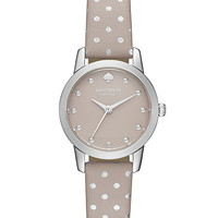 Kate Spade Mini Polka Dot Metro Watch Grey/Stainless ONE