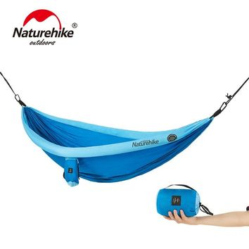 NatureHike Portable Hammock For 2 Person High Strength Outdoor Camping Hanging Ultralight Hammock NH18D002-C