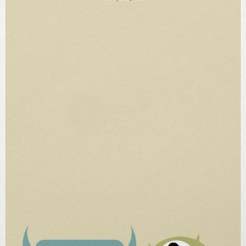 Monsters, Inc. - A3 Poster