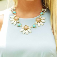 Wish I Had It All Necklace: Gold/Multi