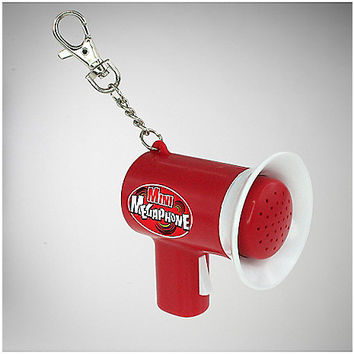 Mini Megaphone Key Chain - Spencer's