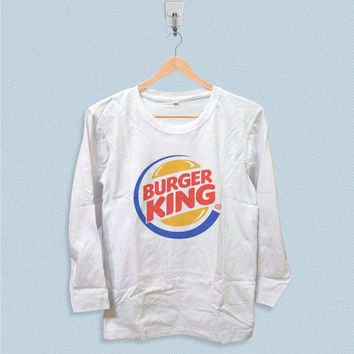 Long Sleeve T-shirt - Burger King Logo