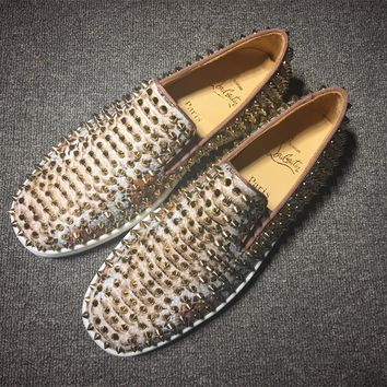 Christian Louboutin Cl Roller Boat Sneakers Reference 16 - Best Online Sale