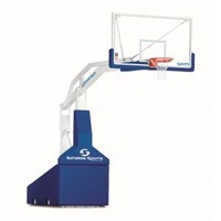 Super SAM 325 FIBA backstop : Portable basketball goals : Continental Sports