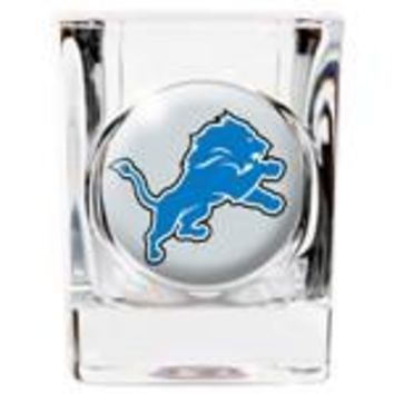 Personalized NFL Shot Glass - Lions
