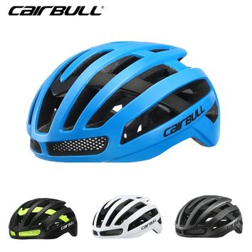 Cairbull 220g Ultra-light Road Bicycle Helmet Racing Cycling Sports Safety In-mold Helmet MTB Moutain Riding Bicycle Helmets M/L
