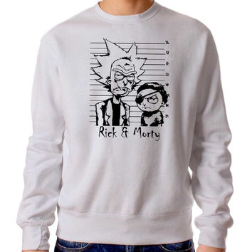 Rick Morty 623 Sweater Man and Sweater Woman