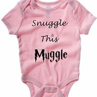 SNUGGLE THIS MUGGLE BABY ONE PIECE HARRY POTTER INFANT APPAREL
