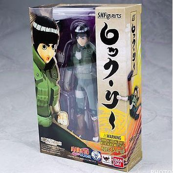 NEW Bandai Tamashii Nations Naruto S.H. SH Figuarts Rock Lee USA Seller IN HAND