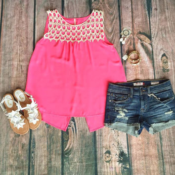 """""""Think Pink"""" Top"""