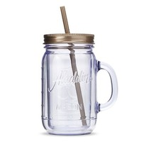Portable Beverage Mug Aladdin 32oz. Gold Clear