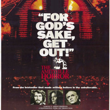 The Amityville Horror 11x17 Movie Poster (1979)