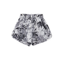GREY MARYJANE SHORTS